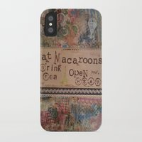 macaroons iPhone & iPod Cases featuring Macaroons by drskippyart