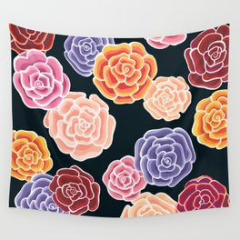 rosy days Wall Tapestry