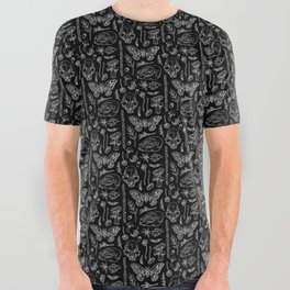 Witchcraft II [B&W] All Over Graphic Tee