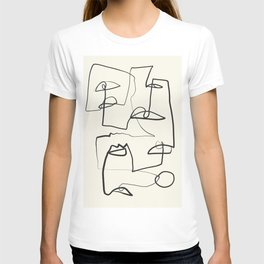 Abstract line art 12 T-shirt