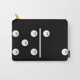 Black Domino / Domino Negro Carry-All Pouch