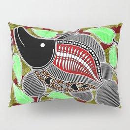 Authentic Aboriginal Art - Barramundi Pillow Sham