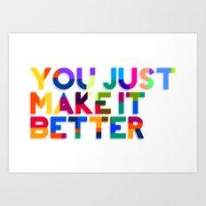 Better Art Print