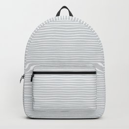 Sea in a winter Backpack