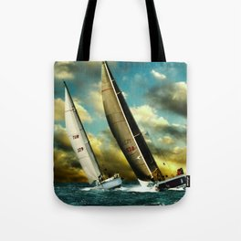 sailrace Tote Bag