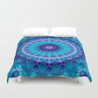 friendship Duvet Covers featuring Undying Friendship by Christine baessler