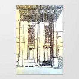 French Door Canvas Print