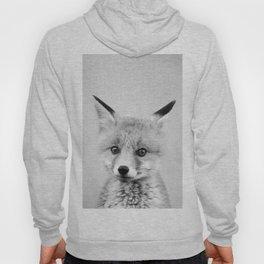 Baby Fox - Black & White Hoody
