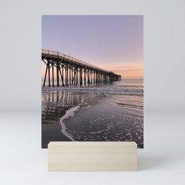 San Simeon Pier No. 2 Mini Art Print