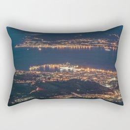 Breathtaking landscape at evening Rectangular Pillow