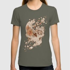 Disintegrate (A Violent Decay):  The Fragile Intensity of Existence SMALL Lieutenant Womens Fitted Tee