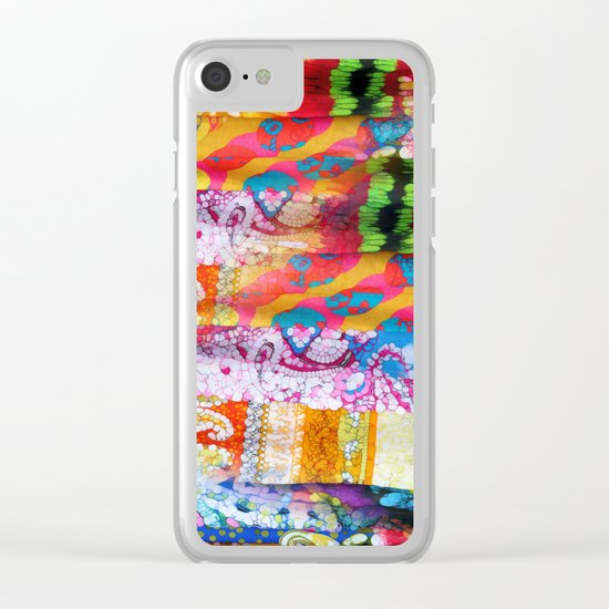 Gipsy Blanket Clear iPhone Case