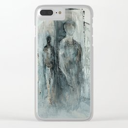 Sentient Figures Clear iPhone Case