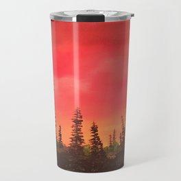 Over the Sunrise Travel Mug