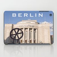 theatre iPad Cases featuring BERLIN OST - VOLKSBÜHNE - Theatre by CAPTAINSILVA