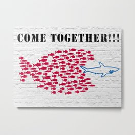 Masterfunk Collective - Come together!!! Metal Print