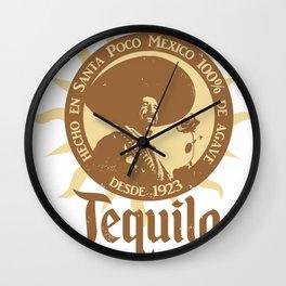El Guapo Tequila Wall Clock