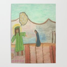 Bible Story Joseph and His Coat Poster