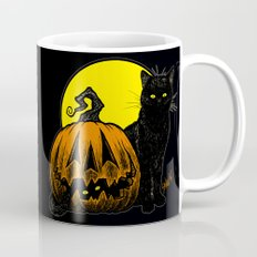 Still Life with Feline and Gourd Mug