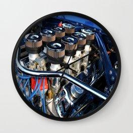 Eight Pack Power Wall Clock