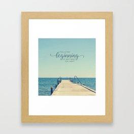 KickStart Framed Art Print