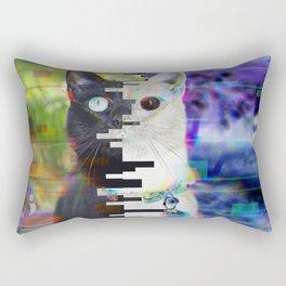 13 Glitch Photograph Rectangular Pillow