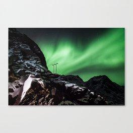 Aurora in Lofoten, Norway (II) Canvas Print