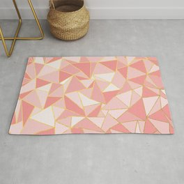 Ab Out Blush Gold Rug
