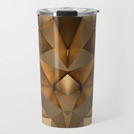 GEOMETRIC GOLD Travel Mug