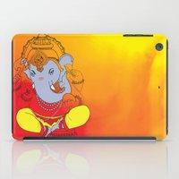 ganesh iPad Cases featuring Ganesh  by xDiNKix