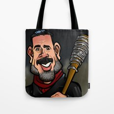Negan and Lucille Tote Bag