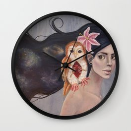 Mourning Pasts Wall Clock