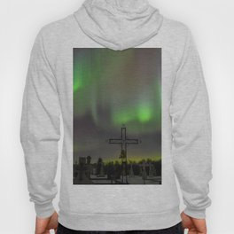 Ghostly Northern Lights Hoody