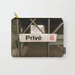 Prive Carry-All Pouch