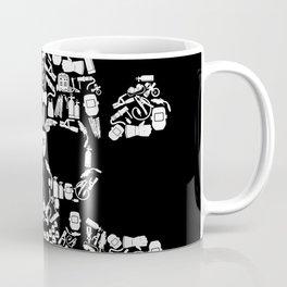Skull Welder Equipment Coffee Mug