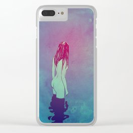 Skinny Dipping Clear iPhone Case