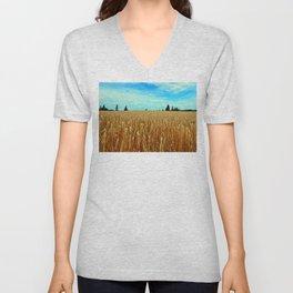 Wheat Field Unisex V-Neck
