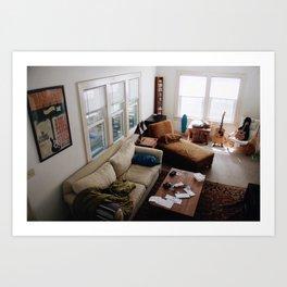 Connors Living Room Art Print