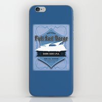 ale giorgini iPhone & iPod Skins featuring Full Sail Barge Ale by Mike Sapora Demaine