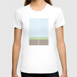 Modern Abstract Landscape T-shirt
