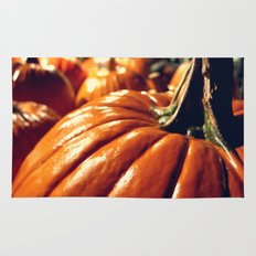 Shiny Pumpkins Rug