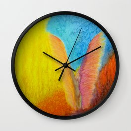 Menses 71: Dance of the Fire Lords Wall Clock