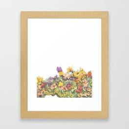 Omega Gardens Framed Art Print