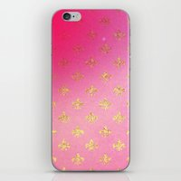 fleur de lis iPhone & iPod Skins featuring Fleur de Lis by Mr and Mrs Quirynen