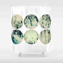 Calling All Skeletons Shower Curtain