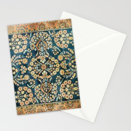 Sarouk  Antique West Persian Rug Stationery Cards