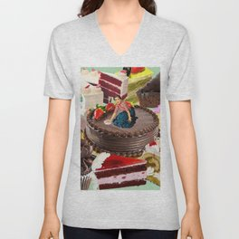 The Cake Factory Unisex V-Neck