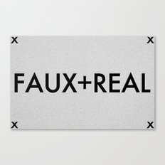 Faux-Real Canvas Print