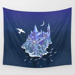 Hogwarts series (year 1: the Philosopher's Stone) Wall Tapestry