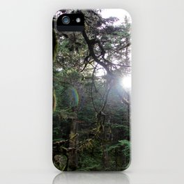 In the Forest Fantasy iPhone Case
